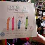 """Award winning book """"The Day the Crayons Quit"""" at Village Toy Shoppe in New Hope"""