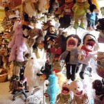 """The ever popular """"puppet tree"""" at Village Toy Shoppe in New Hope"""